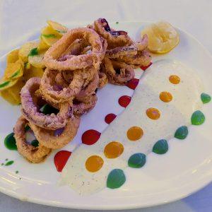 Ración de calamares