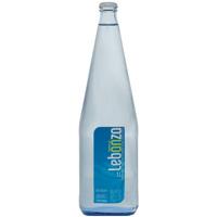 Agua Lebanza 1 L. pet plástico efecto vidrio