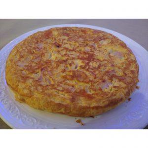 Tortilla deluxe de patata de la Valdavia