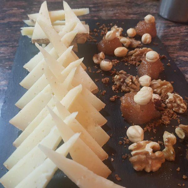 Ración de queso de Villerías