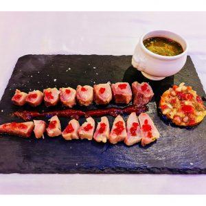 Sashimi de hamachy