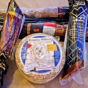 Tabla de ibéricos y queso